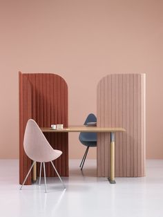 Office Furniture : Note Design Creates Office Divider For People Working On  The Go  Read More U2013