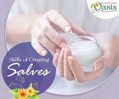 Learn the skills of making essential oil infused ointments. #essential_oils #salves #lotions #ointments #aromatherapy
