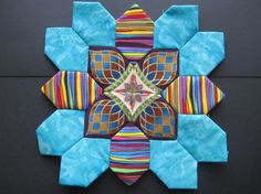 Quilt Patterns, Sewing Patterns, Millefiori Quilts, Cross Quilt, English Paper Piecing, Sewing Box, Easy Quilts, Quilt Blocks, Crosses