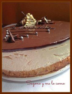 Tarta Mousse de Dulce de Leche, SIN THERMOMIX - http://www.mytaste.es/r/tarta-mousse-de-dulce-de-leche--sin-thermomix-16988315.html