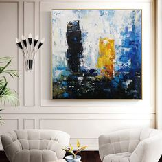 original abstract art on canvas contemporary,living room painting abstract,large abstract canvas wall art,office wall art canvas Abstract Canvas Wall Art, Blue Abstract Painting, Large Canvas Wall Art, Extra Large Wall Art, Contemporary Wall Art, Modern Wall Decor, Oversized Wall Decor, Living Room Paint, Stretching