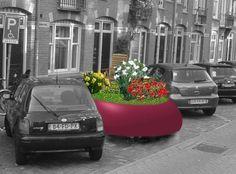 Speciale autoverzekering voor je mobiele voortuin... Planters, Vehicles, Car, Automobile, Planter Boxes, Cars, Cars, Window Boxes, Autos