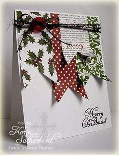 Merry Christmas CAS196 by sweetnsassystamps - Cards and Paper Crafts at Splitcoaststampers