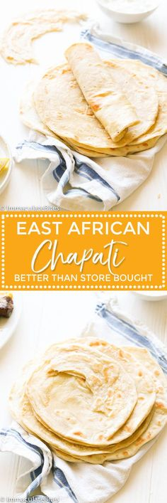 East African Chapati - maybe use for roti? Chapati Recipes, Ugandan Food, Nigerian Food, Indian Food Recipes, Ethnic Recipes, Bread And Pastries, International Recipes, Food And Drink, Recipes