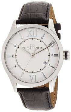 Tommy Hilfiger Men's 1710207 Classic Silver-Tone Watch * Continue to the product at the image link. Tommy Hilfiger Watches, Watches For Men, Wrist Watches, Classic, Accessories, Image Link, Silver, Amazon, Watches
