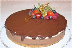 Tones sjokoladeostekake med pasjonsfruktmousse