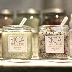 Siesta Salts with Lavender Rose