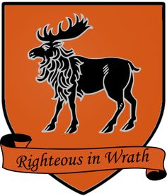 "House Hornwood, words, ""Righteous in Wrath"""