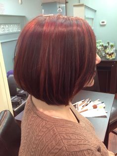 #avedacolor red highlights