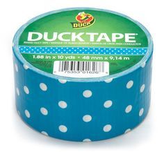 OMGoodness! Polka dot duct tape!