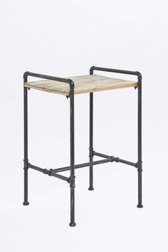 Pipe Leg Side Table