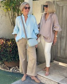 Stylish Outfits For Women Over 50, Stylish Older Women, Summer Outfits Women, Mature Fashion, 50 Fashion, Fashion Outfits, Travel Clothes Women, Clothes For Women, Fashion Over Fifty
