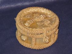 Straw Projects, Straw Art, Cords, Jute, Weaving, Google, Jewelry, Ideas, Decorated Jars