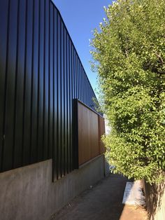 Our Fire rated PVDF painted aluminium cladding is an economic alternative to zinc, copper, bronze & other metal finishes. Aluminium Cladding, Metal Finishes, Bradford, Garage Doors, Exterior, Architecture, Building, Outdoor Decor, Home Decor