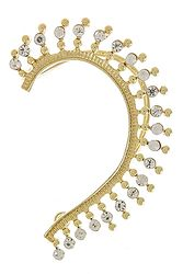 Gold studded full ear cuff, fierce and funky!