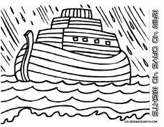 Free printable Noah\'s Ark, Bible coloring pages | Kids Bible Study ...
