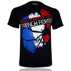 SPIDER INSTINCT Tee Shirt MMA French Fighter