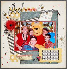 Pooh & Friends-Challenge 8 *Scraptastic* by Madeline @2peasinabucket