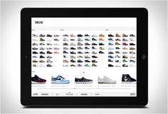 """APP PARA COLECIONADORES DE TÊNIS - SNEAKERS  Os mesmos caras que fizeram o popular livro """"Sneakers"""" criaram agora a APP mais abrangente de tênis que nunca, one-stop shop para visitar seu tênis favorito via Sneakers: The Complete App."""