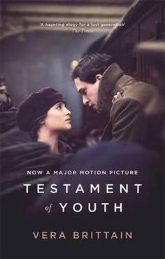 A film tie-in edition of Vera Brittain's classic autobiography, published to coincide with the major motion picture adaptation starring Dominic West, Emily Watson, Colin Morgan and Kit Harington.