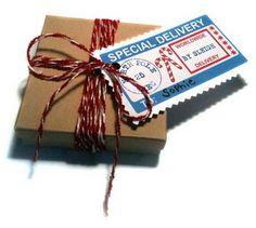 Free FROM SANTA printable gift tags.