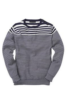 Salton Stripe Jumper by FC