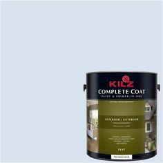 Kilz Complete Coat Interior/Exterior Paint & Primer in One #RC220-02 Elegant Lace, 1 gal, Flat