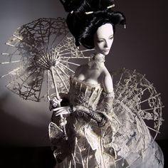 """Fashion MOON"" collection (2007, OOAK) in Hi-res, soon with our web site update  / Коллекция ""Fashion MOON"" ( 2007г., OOAK) будет показана во всех деталях на нашем новом сайте уже совсем скоро!   #popovysisters  #popovydolls #sistersdolls #staticdoll #wip #exclusivedoll #fashiondoll #fashion #ooak #doll #artwork #dream #amazingart #art  #workinprogress  #wip"