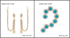 Earrings are a major style statement and add an elite look to your dress. There are different beautiful designs of earrings, among which the ear cuffs is an elegant pair.