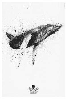 Fantastic design from Mark Brooks for Sea Shepherd