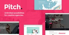 Download – Pitch  A Theme for Freelancers and Agencies – Version 1.3
