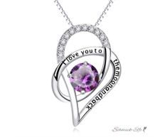 Anhänger Galaxie  i love you to the moon and back  mit...