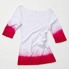 Show details for So-Hip Dip Dyed T-shirt Dip Dye T Shirts, Hips Dips, Dip Dyed, Online Craft Store, Joann Fabrics, Sewing Hacks, Summer Fun, Fabric Crafts, My Girl