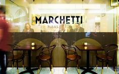 Marchetti (QLD) by Stephen Cameron Architecture.The best cafe, bar and restaurant interiors of the year - Vogue Living
