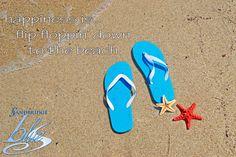 Flip-Flop down to the beach! #Sandbridge #BeachQuotes #Summer #VirginiaBeach