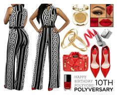 """Celebrate Our 10th Polyversary! Contest"" by texasradiance ❤ liked on Polyvore featuring Moschino, Chanel, Burberry, Milani, polyversary and contestentry"
