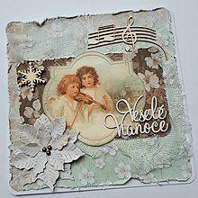 Papiernictvo - Vianočná pohľadnica - 8538290_ Decoupage, Christmas Cards, Lunch Box, Frame, Home Decor, Christmas E Cards, Picture Frame, Decoration Home, Room Decor