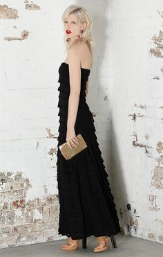 aafb57be758e Sacha Drake Maddison Maxi Ruffle Dress - Womens Maxi Dresses ...