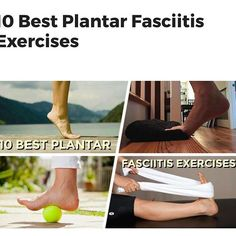Plantar fasciitis is a foot condition that typically affects the arch and heel. Here are 10 best plantar fasciitis exercises to relieve pain and other symptoms. Heel Pain, Foot Pain, Foot Exercises, Stretches, Plantar Fasciitis Exercises, Podiatry, Disorders, Conditioner, Medical