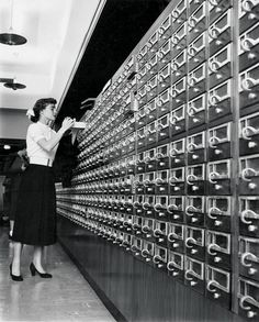 Memorial Library bids an overdue adieu to its card catalog.
