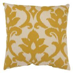 Pillow Perfect Azzure Marigold Throw Pillow - 472997