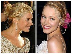 Aposte na trança para seu penteado de noiva - Toda Moderna