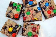 Loaded M&M Oreo Bars