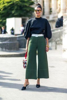 Giovanna Battaglia - Oui Oui! Style from the Street in Paris - HarpersBAZAAR.com
