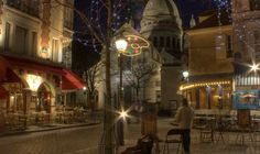 Place du Tetre, Montmartre, Paris, Sacre Coeur is in the background http://www.messynessychic.com/2011/02/02/seven-substitutes-for-tourist-trap-hotels-the-messy-nessy-chic-paris-hotel-guide/