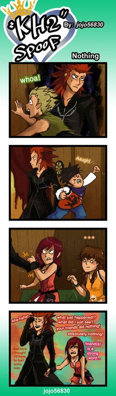 KH2 Spoof: Nothing by jojo56830.deviantart.com on @DeviantArt