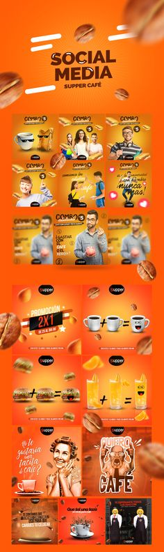 Social Media Supper Cafe on Behance