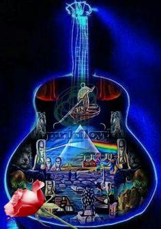 Pink Floyd Artwork, Pink Floyd Poster, Arte Pink Floyd, Psychedelic Bands, Rock Y Metal, Music Pics, Pop Music, Greatest Rock Bands, Progressive Rock