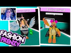 ROBLOX FASHION FRENZY | WE B PARTY ANIMALS | RADIOJH GAMES & MICROGUARDIAN - YouTube
