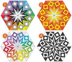 Block 3 - Northern Lights - Sassafras Lane Designs